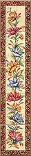 ALHAMBRA verticale Pannello Decorativo Piastrelle Fiori Traliccio CAMINO 5 piastrella Pannello