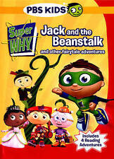 Super Why! Jack and the Beanstalk & Other Fairytale Adventures DVD w/Puzzle