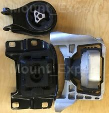 3pcSet Motor Mounts fit 2007 - 2013 Mazda 3 Mazdaspeed 6 Speed 2.3L Turbo Engine