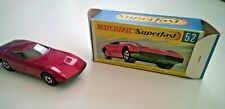 LESNEY MATCHBOX No52 DODGE CHARGER MKIII  SUPERFAST VNM AND BOXED