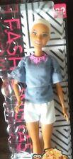 Barbie Fashionistas Doll 82 chic en chambray Original poupée avec accessoires NEUF