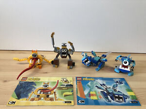 Lego Mixels X 4, TURG 41543 SNOOF 41541 CHILBO 41540 JINKY 41537 COLLECTION
