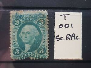 USA Telegraph Revenue 1862-71 Choice of stamps CDS or Pen cancs