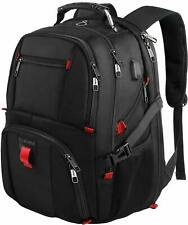Travel Backpacks for Men, Extra Large College School Laptop Bookbag with USB NEW