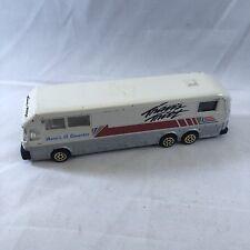 Travis Tritt Road Champs Eagle Coach Die Cast Tour Bus 1993 White Vintage