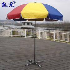 Patio Market Outdoor Umbrellas 9FT Multi-Color Rainbow