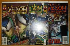 VENOM: The Hunted #1-3 Complete Marvel Comics Set
