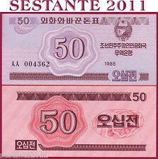 KOREA  COREA  -  50 CHON 1998 - Socialist Visitors   -  P 34   -  FDS / UNC