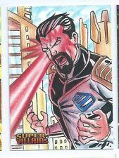 Cryptozoic DC Super-Villains sketch Cleber Lima (b)