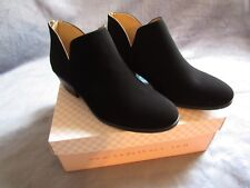 NEW Women's Soda Suede Ankle Boots Size 7.5 Black