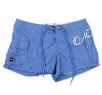 O'Neil Womens Blue Board Swim Surf Cargo Pocket Shorts Size 1 Juniors