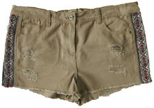 New Womens Beige NEXT Shorts Size 20 LABEL FAULT
