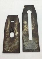 "Vintage Sargent Plane Blade New Haven, CT USA. 2"" Wide Plus Chips Breaker"