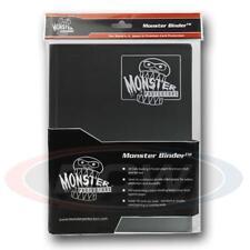 9 POCKET MONSTER PROTECTOR BINDER - MATTE BLACK