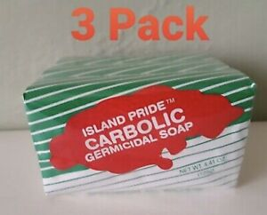 Carbolic Germicidal Bar Soap (4.41 oz) Pack Of 3