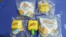 McDonald's Happy Meal McDino Changeables 1990 lot of  5 McNuggets