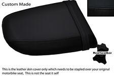 BLACK CUSTOM FITS SUZUKI GSXR 1000 01-02 K1 K2 REAR PILLION SEAT COVER