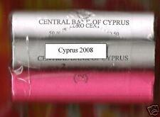 Cyprus      1, 2 en 5   cent Rollen   2008   UNC