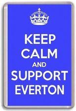 KEEP CALM AND SUPPORT EVERTON, EVERTON FOOTBALL TEAM Fridge Magnet