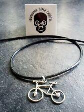 Love to CICLO COLLANA NERA-Ciclo Di Bicicletta Fascino Regalo Natale Shimano Hope Tour