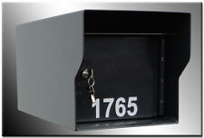 """M1-Lt Fort Knox Mailbox 11 gauge or 1/8"""" thick steel security locking mail box"""