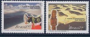 Brazil 1997 - Nature River Delta Park Tourism nature Art - Sc 2641/2 MNH