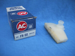 NOS ford  breather element ac delco FB 60,mustang,lincoln,mercury 1971-1986,USA
