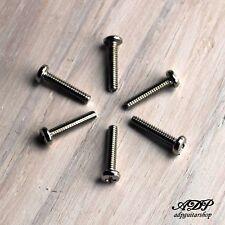 6 VIS MICRO STRAT 1.85x18mm NICKEL Strato Pickup Screws