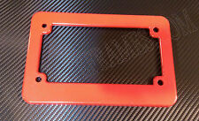 RED MOTORCYCLE scooter blank plastic License Plate Frame
