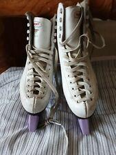 Risport Laser Profile vintage-style ice skates size 36  Bauer blade guards