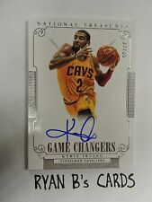 Kyrie Irving 2014-15 National Treasures SSP Game Changers AUTOGRAPH! #/35 CAVS