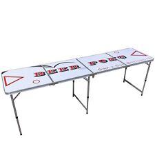 Beer Pong Tisch, Klapptisch, Campingtisch, Gartentisch, Beer Game
