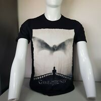Official HBO Game Of Thrones D Dragon Tshirt Black Size M