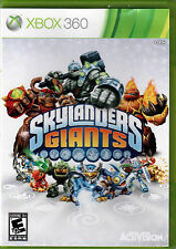 SKYLANDERS GIANTS for XBOX 360 on CONSOLE a COMPLETE VIDEO GAME of CHARACTERS in