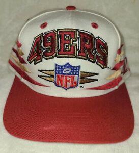Vintage SF 49ers Snapback Pro Line Diamond Hat