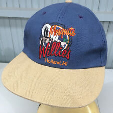 Mesquite Willie's Holland Michigan Snapback Baseball Hat Cap Made in USA