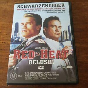 Red Heat DVD R4 Like New! FREE POST