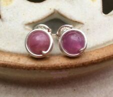 Natural Sapphire Round Costume Earrings