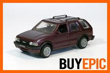 Gama Opel Frontera A largo 4x4 1:43, Rojo burdeos Metálico, Coche escala, RAREZA