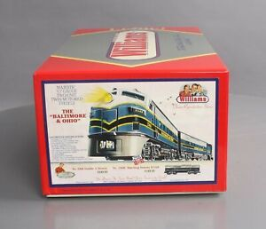 Williams 2368 Baltimore & Ohio F-3 AA Diesel Locomotive Set w/Horn NIB