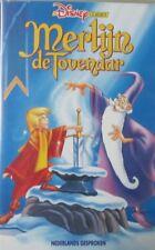 MERLIJN DE TOVENAAR  - WALT DISNEY  - VHS
