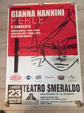 GIANNA NANNINI - POSTER PERLE TOUR 2004