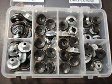 60 pcs thread cutting emblem script & moulding clip sealer nuts assortment Ford