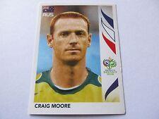 Sticker PANINI Fifa World Cup GERMANY 2006 N°420 Australia Craig Moore