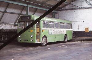Original Bus Slide; MAIDSTONE & DISTRICT Hastings 6.77 - 195 XKE