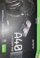 Astro Gaming A40 TR Headset + MixAmp Pro TR for PS4 - Black