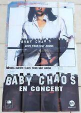 BABY CHAOS ( DECKARD) - Affiche officielle Tournée - 1996 - Rock britannique