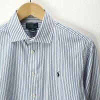Women's Ralph Lauren Shirt in Blue Size 16 Striped Long Sleeves  CD2784