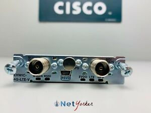 Cisco EHWIC-4G-LTE-V - LTE 4G High Speed Card for Verizon EHRPD - SAMEDAYSHIPING