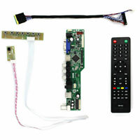 New for LTN173KT02-T01 LCD LED screen Controller Driver Board TV+HDMI+VGA+AV+USB